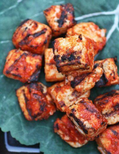 Sriracha grilled tofu