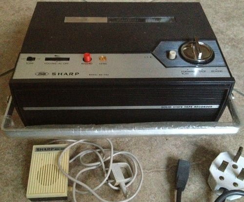 Vintage Sharp Rd 303 Reel To Reel Tape Solid State