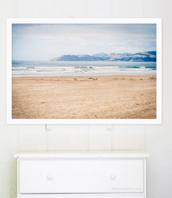 Large Beach Photography California Scale Art Ocean Prints Living Room