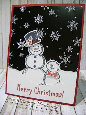 Stampin' Studio: Snowman Snow