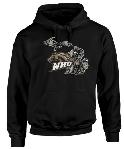 Western Michigan University College Football Apparel -The perfect gift, gear, or clothing for true WMU fans who love Michigan!Home is where your heart is, so show everyone that Michigan is your home with this LIMITED EDITION shirt!
