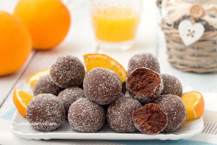 Tartufini+arancia+e+cioccolato