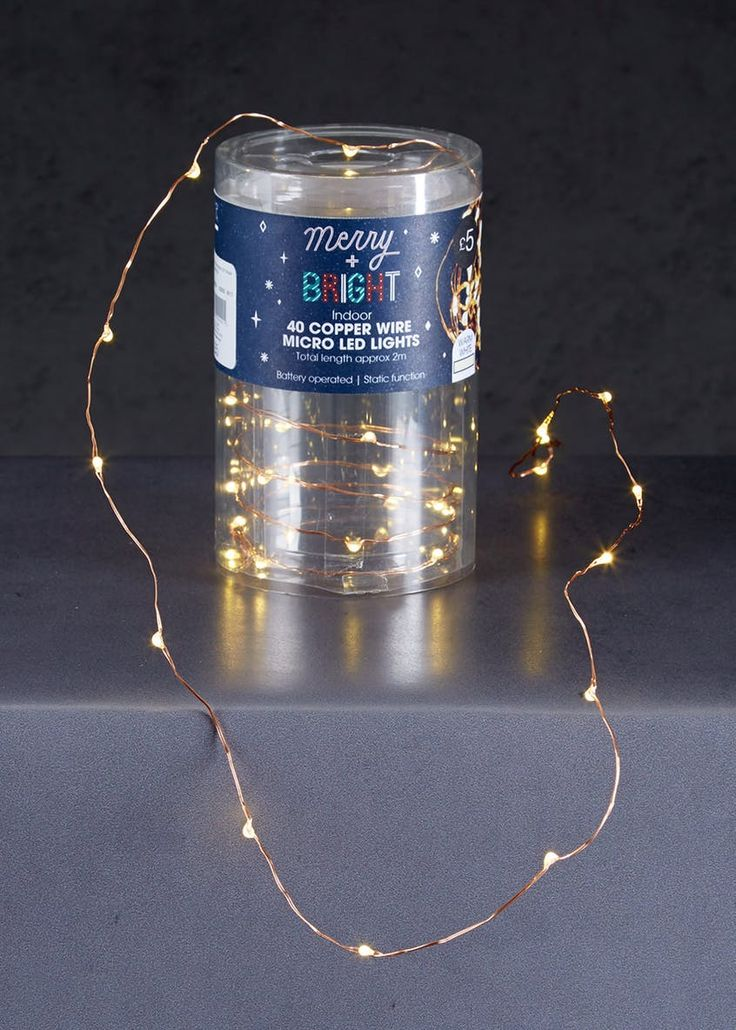 Superb  Pack Copper Wire LED Christmas Lights m