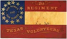 20th Texas Civil War Confederate Regimental Flags | List of Texas Civil War Confederate units - Wikipedia, the free ...