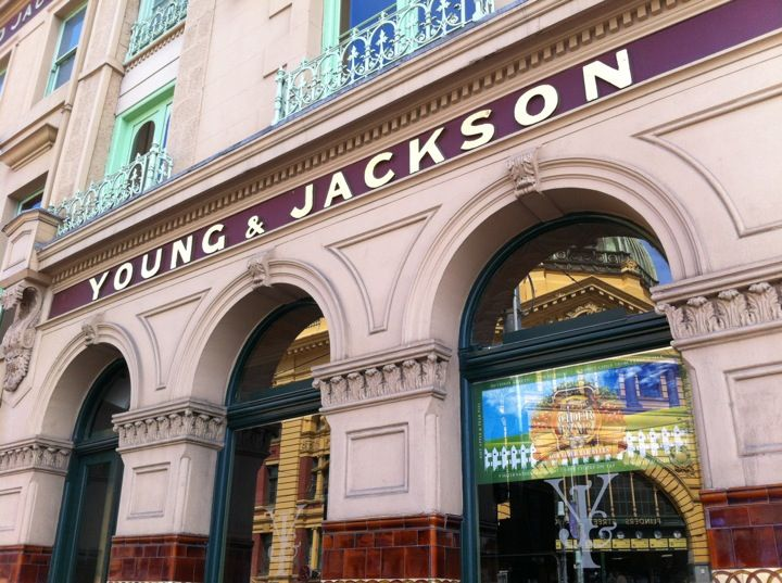 Young & Jackson in Melbourne, VIC