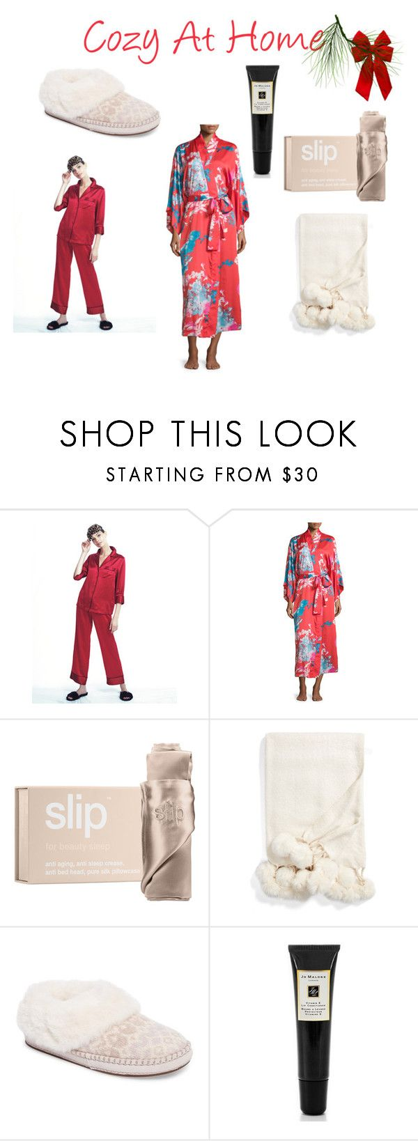 """""""Cozy At Home Gift Guide"""" by suzanne-smith-i on Polyvore featuring Natori, Slip, Nordstrom, UGG and Jo Malone"""