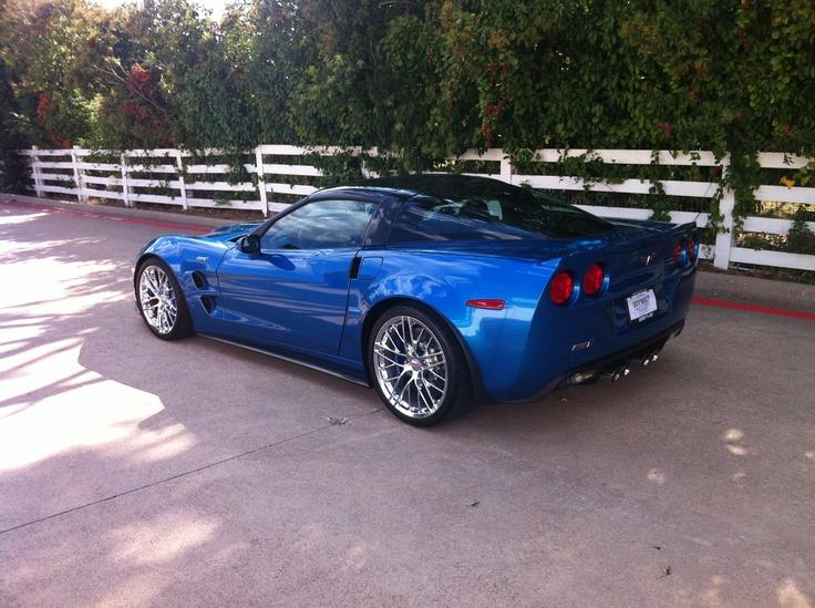 Jet Stream Blue ZR1 Chevrolet corvette, Corvette, Automobile