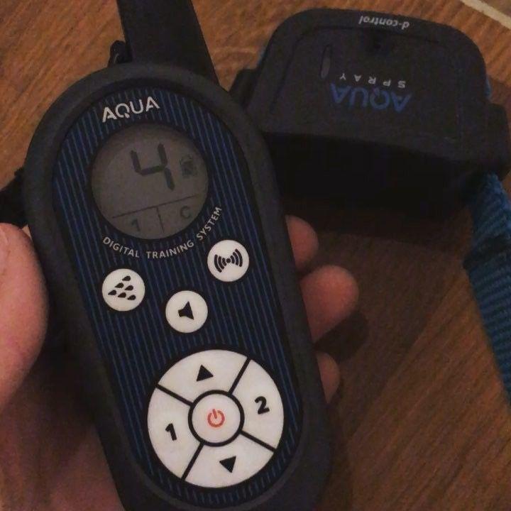 D control Aqua Dogtrace distribuito da www.cinomania.com