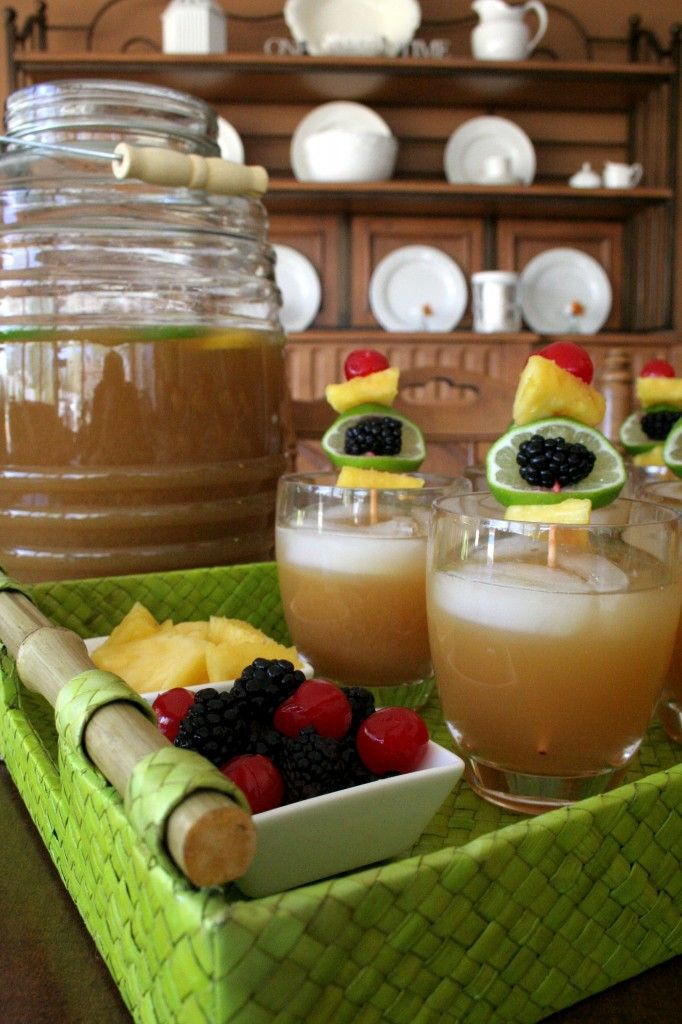 Best 20 fruit tea recipes ideas on pinterest flavored for Easy fruit tea recipe