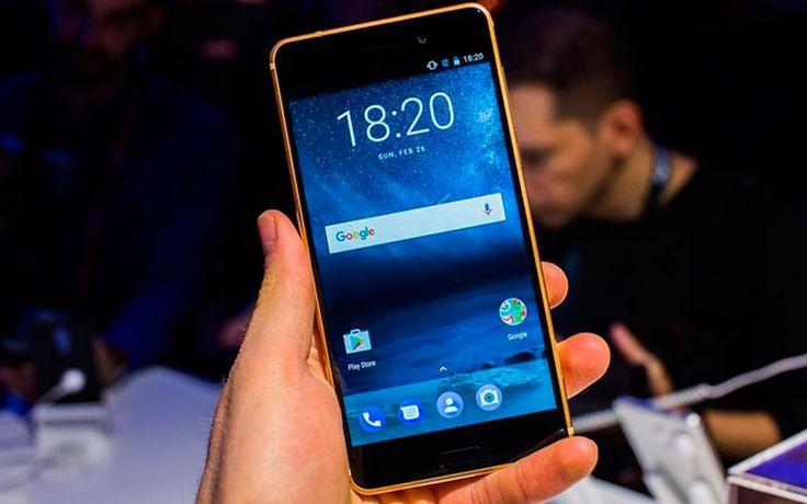 Nokia 6 может быть необычным, но это не означает, что он не может выглядеть красиво. Металлический телефон получает блестящий черный корпус