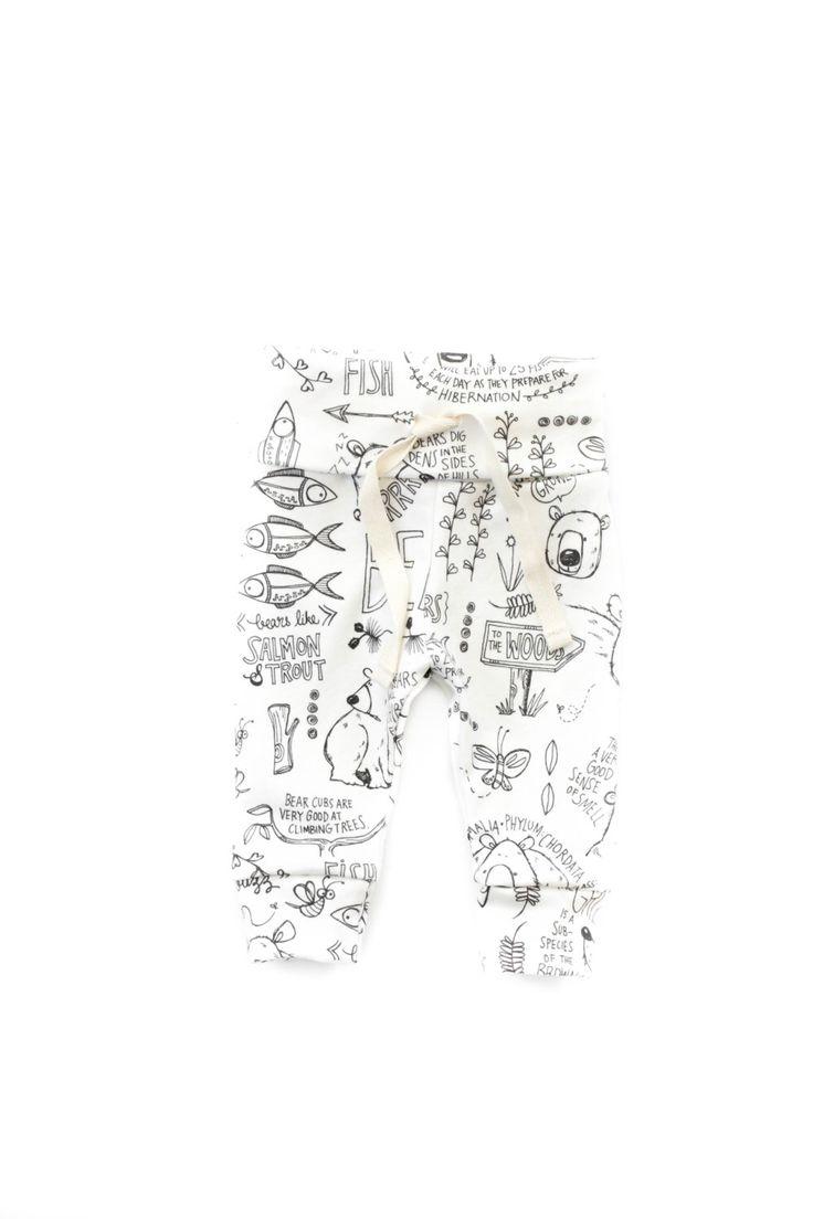 baby drawstring leggings, toddler leggings, organic leggings, bear leggings, girls leggings, gender neutral leggings, baby shower gift by babysproutsco on Etsy https://www.etsy.com/listing/461375228/baby-drawstring-leggings-toddler