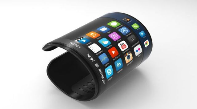 Futuristic Technology | Future technology Concept Fitness Bracelet Phone