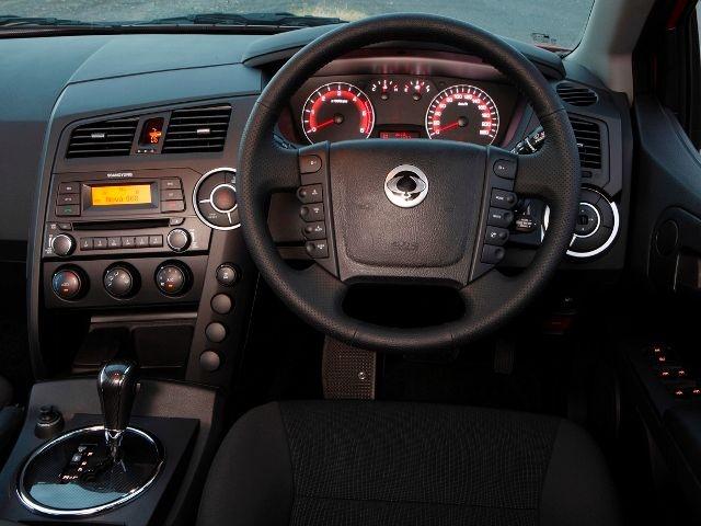 McCarthy Call-A-Car: New SSANGYONG Actyon Sports 2.3 D-Cab 4x4 PU MY12