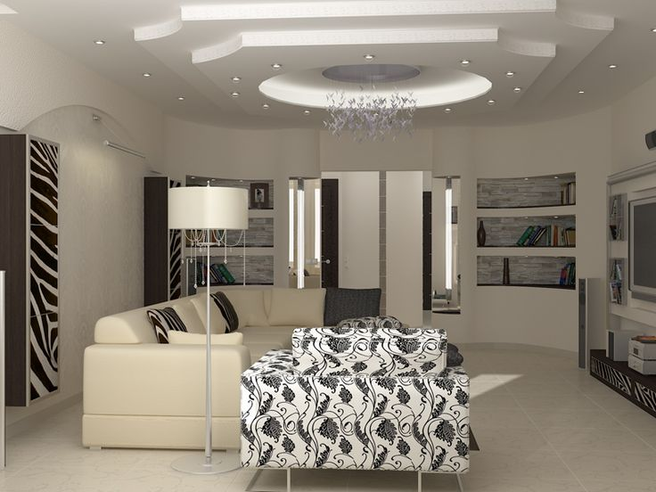 small-living-room-design-for-living-room-Two-layers-gypsum-ceiling.jpg (800×600)