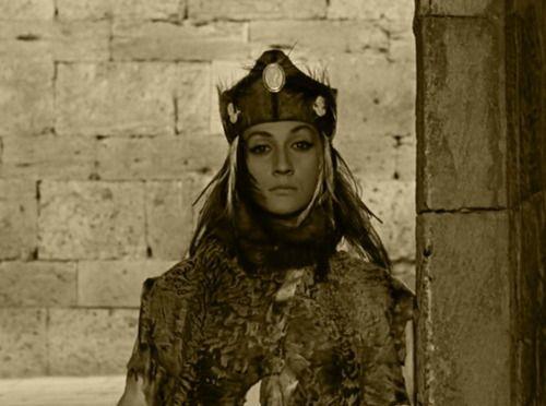 Sofiko Chiaureli - Georgian actress - in the movie Sayat Nova, 1968