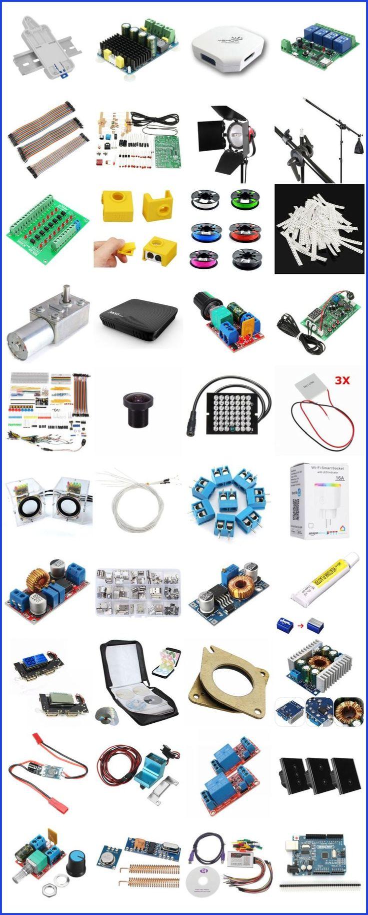 Eine breite Palette elektronischer Produkte bei Banggood USA #hobby #electronics #raspberryp … – Tech