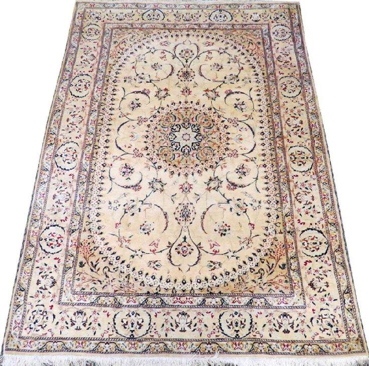 Persian qum pure silk carpet
