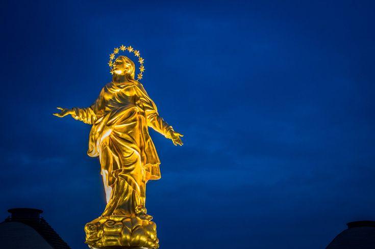 Madonnina del Duomo. Replica shot at Expo 2015. #Milan #Italy.