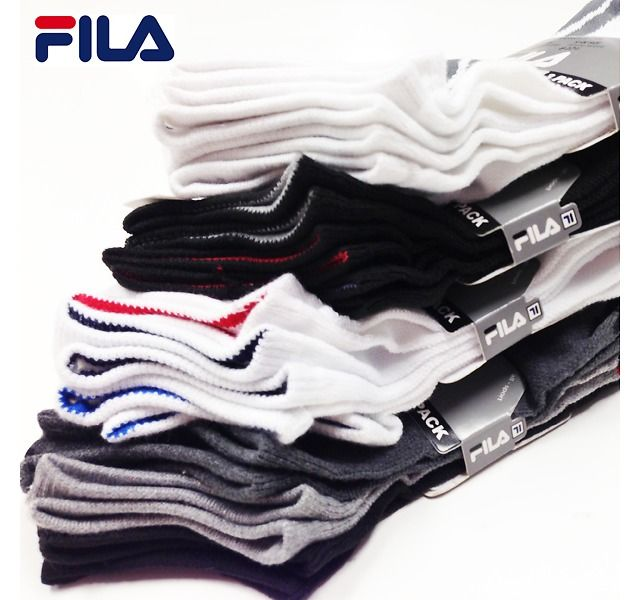 fila knee high socks. 12 pairs - men\u0027s or women\u0027s fila performance no show socks (ship free) $12.49 knee high k