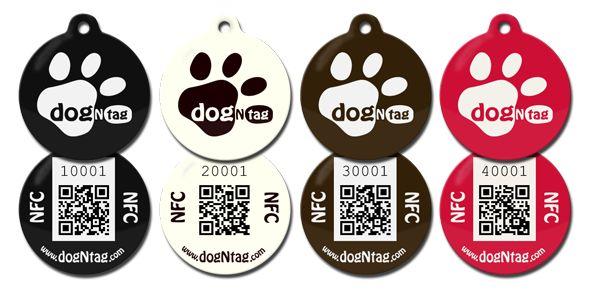 DogNtag - Stylové interaktivní psí známky