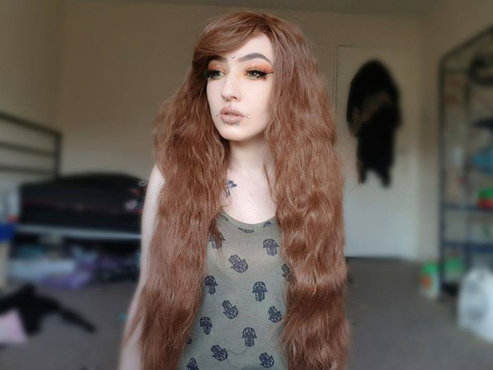 """Lucy gave us some feedback on Forest Girl: """" Soft, thick, easy to brush, no fall out ♡ """"– missxxmurderxx  Thank you! Don't forget you can review your purchases at the site. Forest Girl available here: https://www.lushwigs.com/515/forest-girl-brown-crimped-waves-curls-natural-mori-gothic-lolita-cosplay-lush-wig/ #malaysianhair #bundledeals #curlyhair #brazilianhair #peruvianhair #virginhairsale #atlhairstylist #sewins #brooklynhairstylist #hairextensions #nychairstylist #minkhair #humanhair…"""