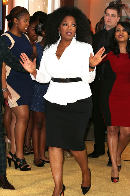 Oprah Winfrey arrives in style to Essence's annual Black Women in Hollywood Awards