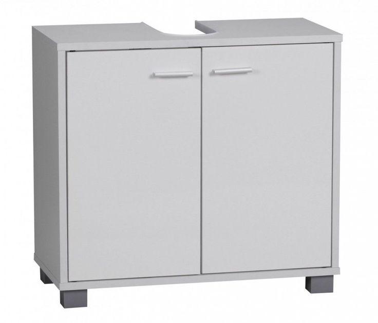 WOHNLING Bad Waschbecken Unterschrank 60 x 55 x 30 cm 2 Türen weiß Jetzt bestellen unter: https://moebel.ladendirekt.de/bad/badmoebel/unterschraenke/?uid=215da770-3528-5ce4-baec-62a5db3995ca&utm_source=pinterest&utm_medium=pin&utm_campaign=boards #möbel #unterschraenke #bad #badmoebel #einrichtung