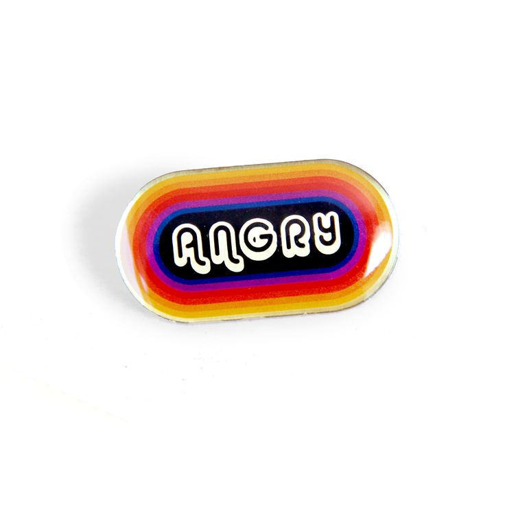 HOME :: Pins & Patches :: Lapel Pins :: Angry Pin
