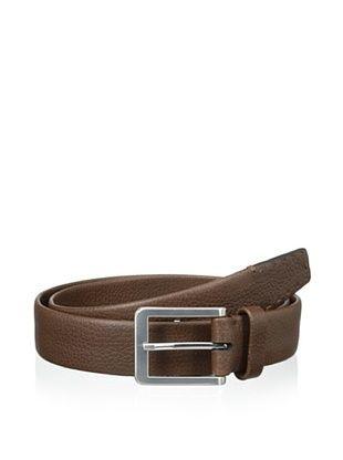 48% OFF Trafalgar Men's Pick Stitch Dress Belt (Brown)