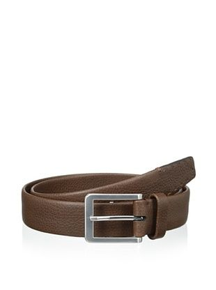 48% OFF Trafalgar Men's Pick Stitch Dress Belt (Brown)