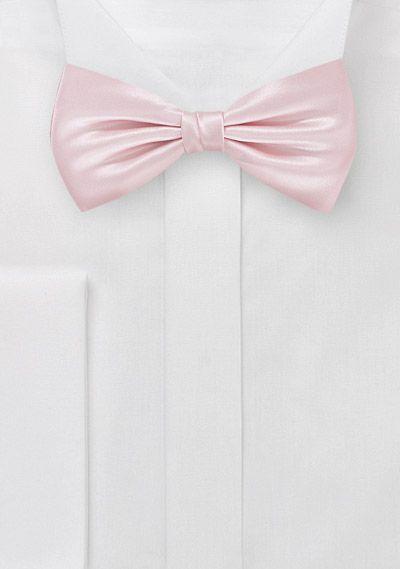 Menswear Bow Tie in Light Pink   Bows-N-Ties.com