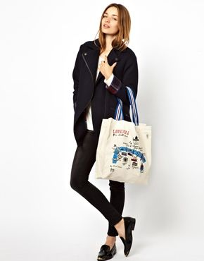 Изображение 3 из Большая сумка-шоппер Talented Totes Riverscapes London