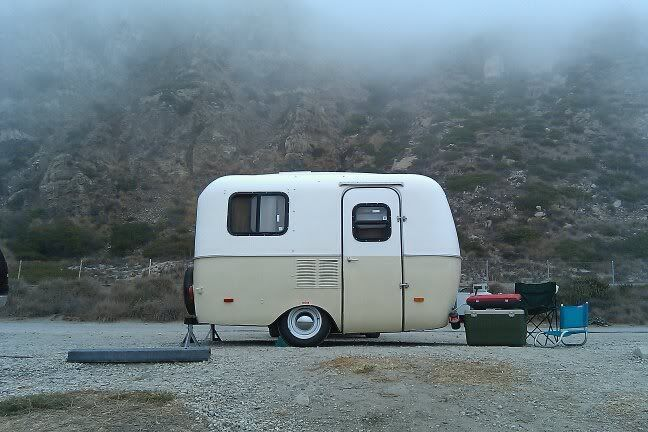 I'd be stoked with a little Scamp Camper!