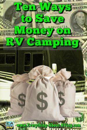 Ten ways to save money on RV camping