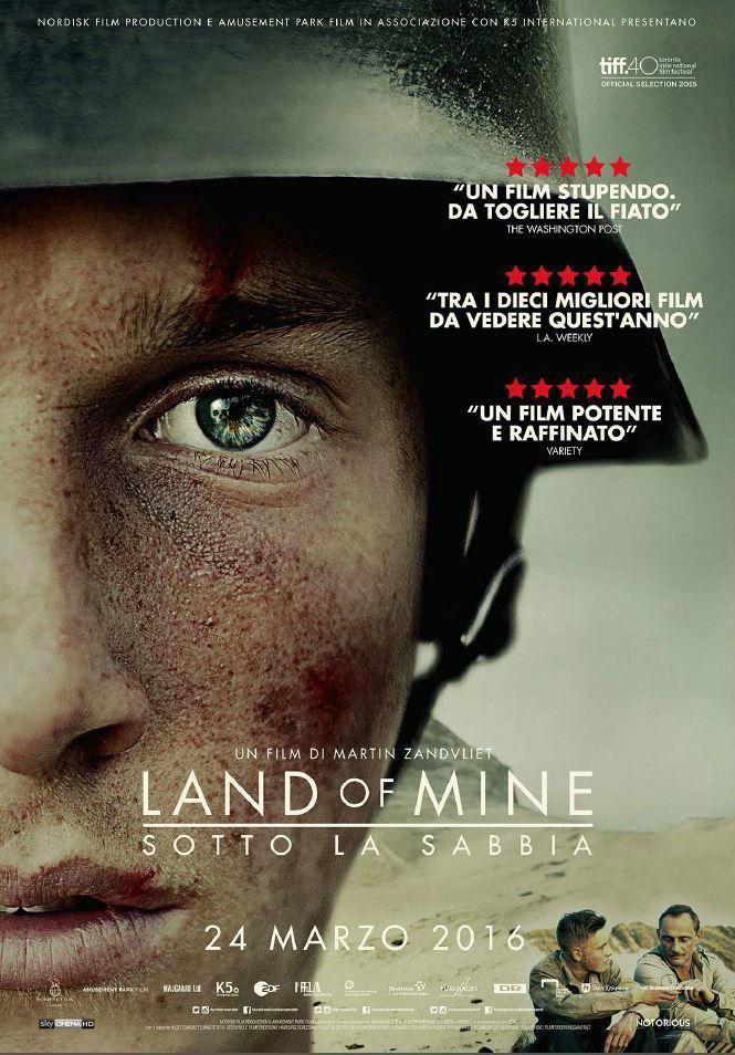 Land of Mine, scheda del film di Martin Zandvliet, leggi la trama e la recensione, guarda il trailer, scopri la data di uscita al cinema del film