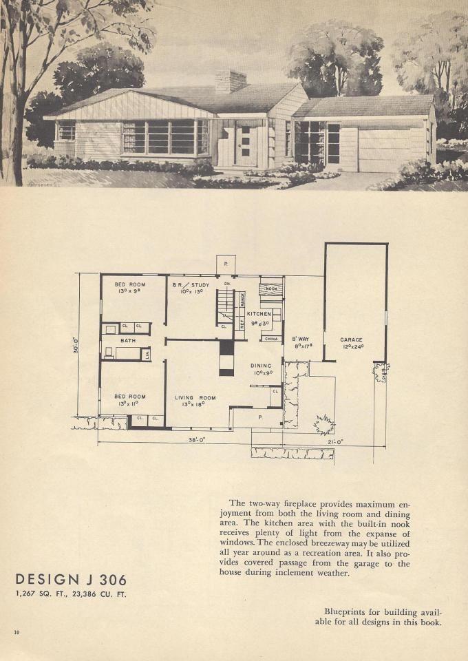 Vintage house планы средние века планы дома plans de maison