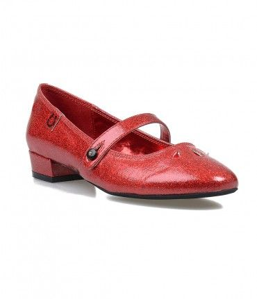 """Dorothy just called! The Baby Jane from Miss L Fire flats are the ultimate in adorable, featuring a 1"""" block heel f...Price - $65.00-WNXoX6oH"""