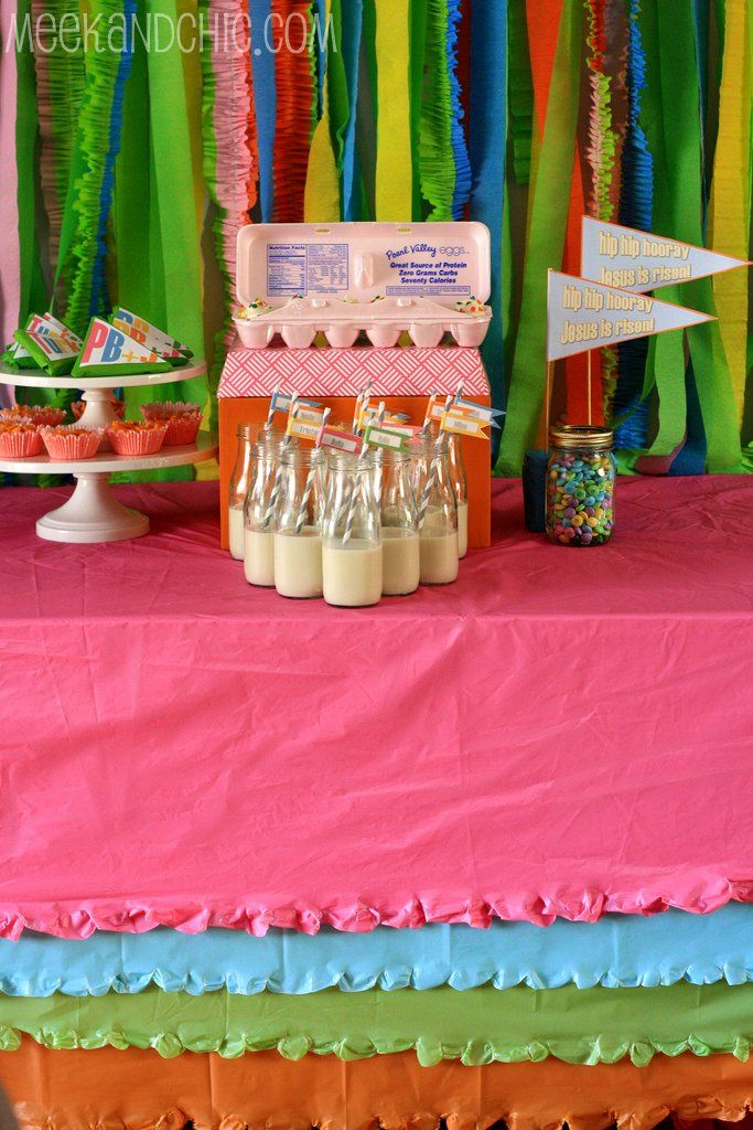 Jesus Is Risen Partywould Be A Fun Thing To Do With My Preschool