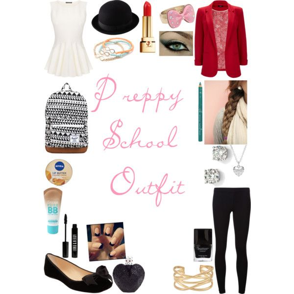 Preppy School Outfit