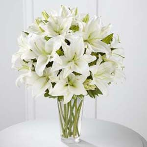 The FTD® Spirited Grace™ Lily Bouquet http://www.enchantedfloristcanada.com/product/the-ftd-spirited-grace-lily-bouquet/display