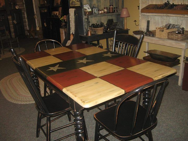independence day idea lovely photo primitive tablesprimitive kitchenprimitive - Primitive Kitchen Tables