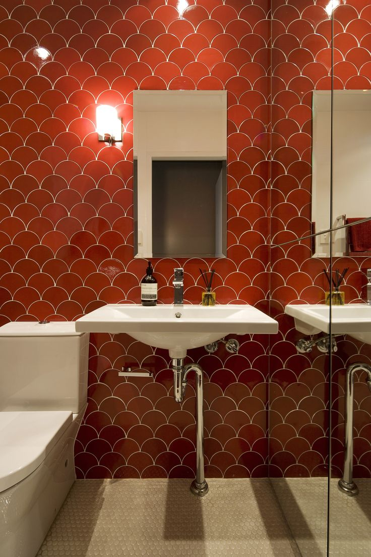 Alexandra Kidd Design Marian Street Project Powder Room