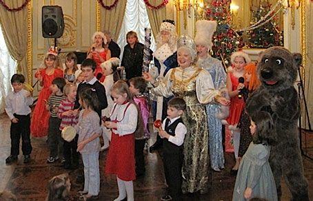 В генконсульстве РФ в Нью-Йорке отпраздновали православное Рождество-russian cristmas in NEW YORK