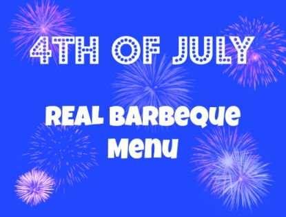 4th of july bbq menu ideas