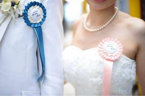 結婚式やプレゼントにもぴったり♡かわいい「ロゼット」の魅力と作り方