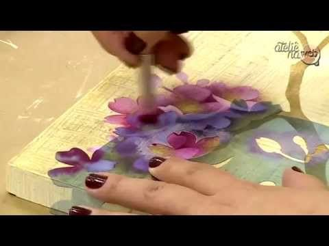 Ateliê na TV - TV Gazeta - 03.09.15 - Mayumi Takushi - YouTube
