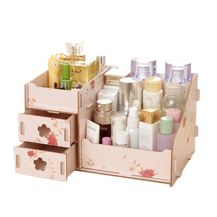 Hoomall Wooden Storage Box Jewelry Container Makeup Organizer Case Handmade DIY Assembly Cosmetic Organizer Wood Box For Office - ICON2 Luxury Designer Fixures  Hoomall #Wooden #Storage #Box #Jewelry #Container #Makeup #Organizer #Case #Handmade #DIY #Assembly #Cosmetic #Organizer #Wood #Box #For #Office