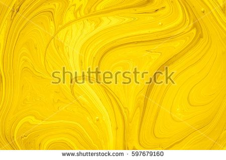 Yellow and gold oil paint abstract background. Oil paint Yellow and gold Oil paint for background. Yellow and gold marble pattern texture abstract background