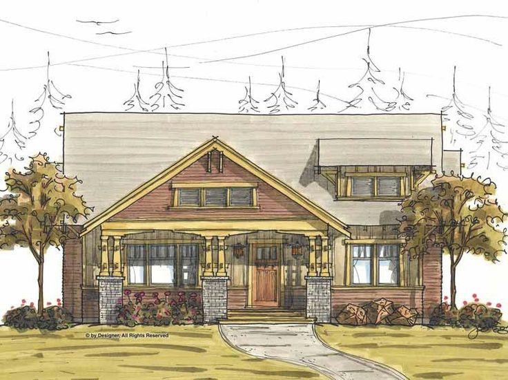 Eplans Craftsman House Plan