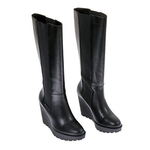 Γυναικείες μπότες Calvin Klein Jeans μαύρες (1488663)   Factory Outlet
